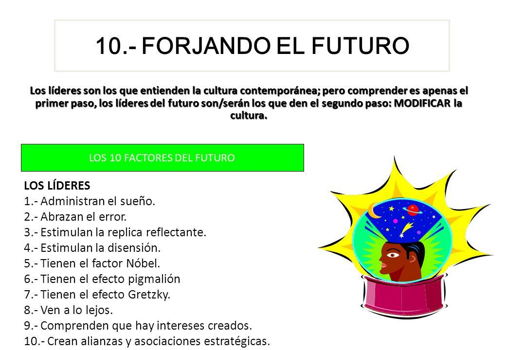 LOS 10 FACTORES DEL FUTURO