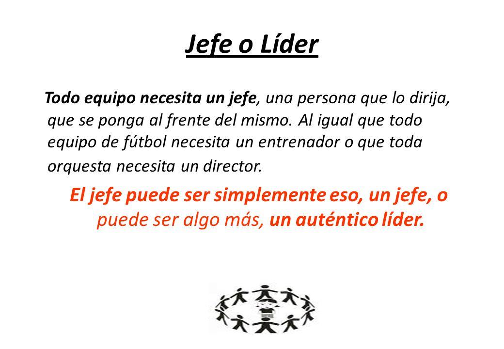 Jefe o Líder