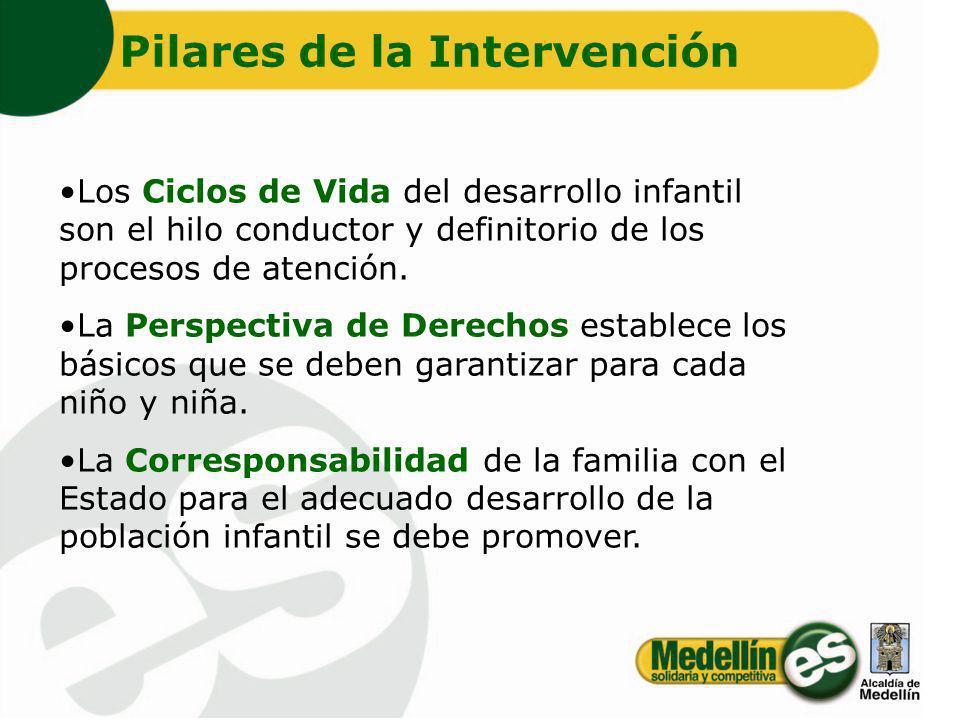 Pilares de la Intervención