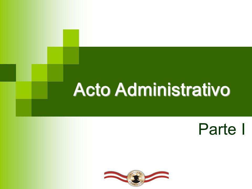 Acto Administrativo Parte I