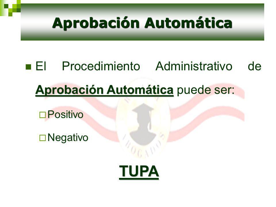 Aprobación Automática