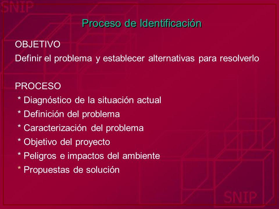 Proceso de Identificación
