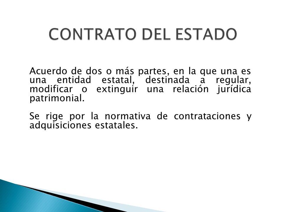 CONTRATO DEL ESTADO