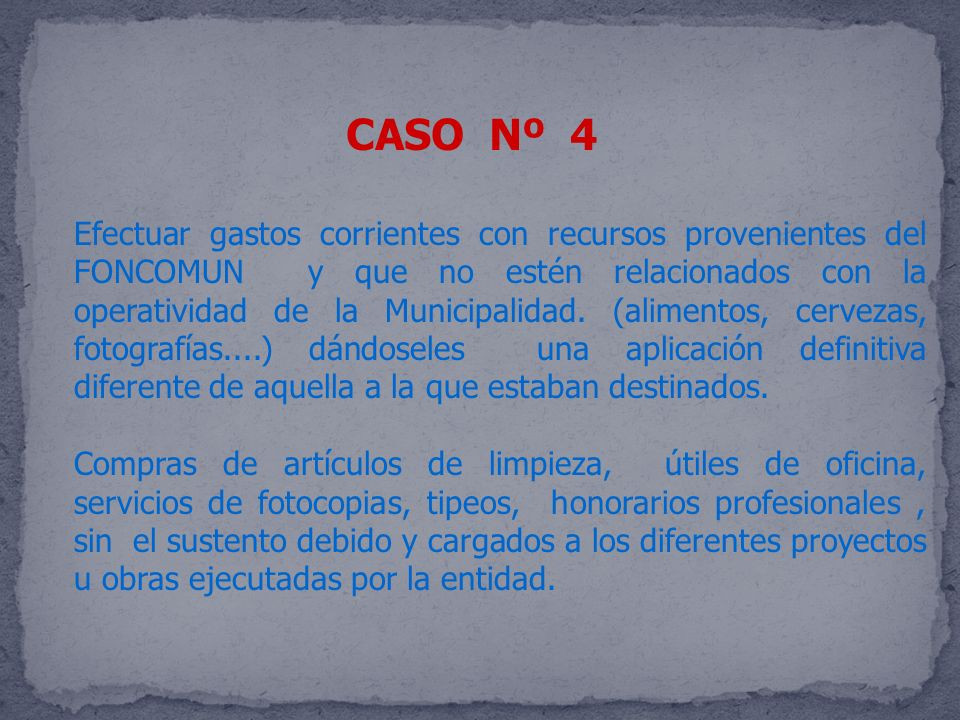 CASO Nº 4