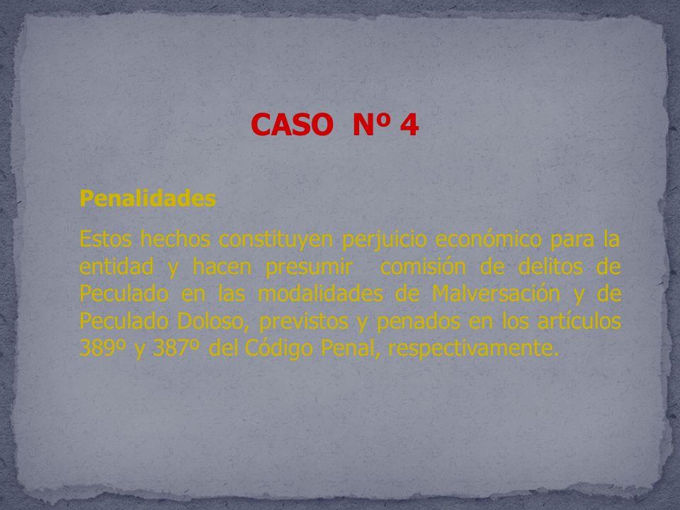 CASO Nº 4 Penalidades.