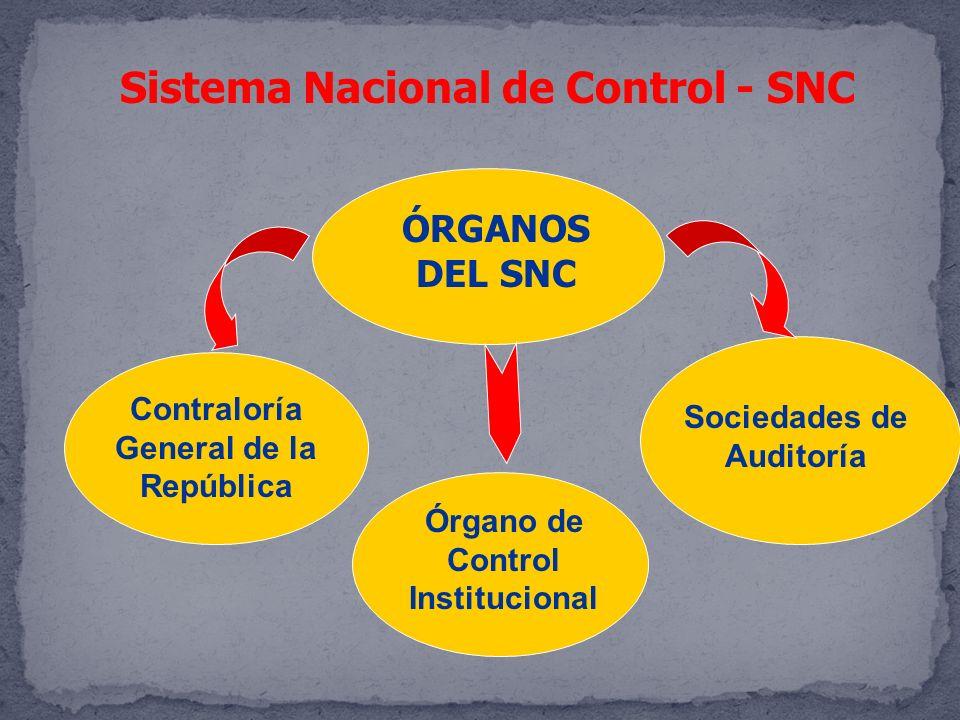 Sistema Nacional de Control - SNC