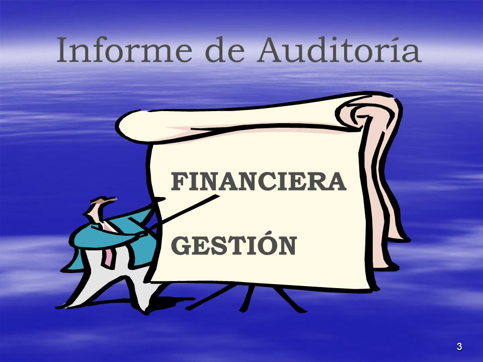 Informe de Auditoría FINANCIERA GESTIÓN