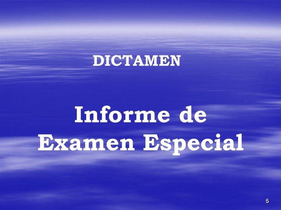 Informe de Examen Especial