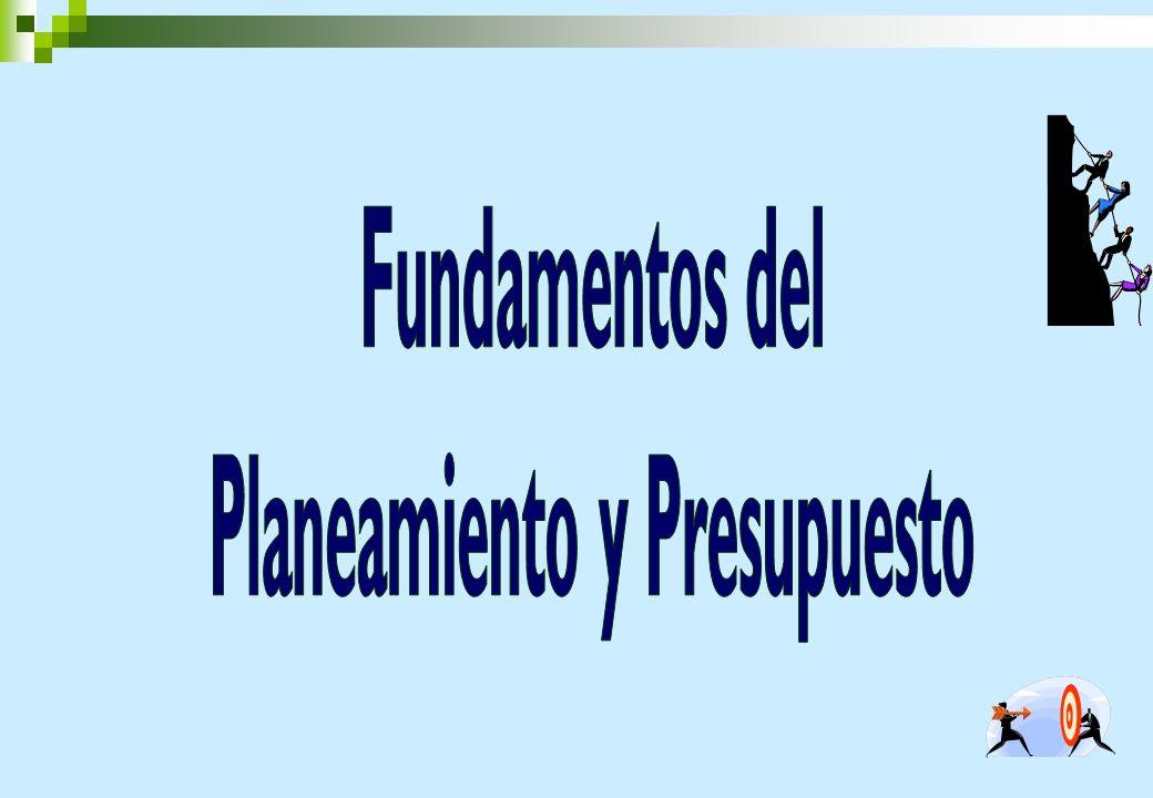 Planeamiento y Presupuesto