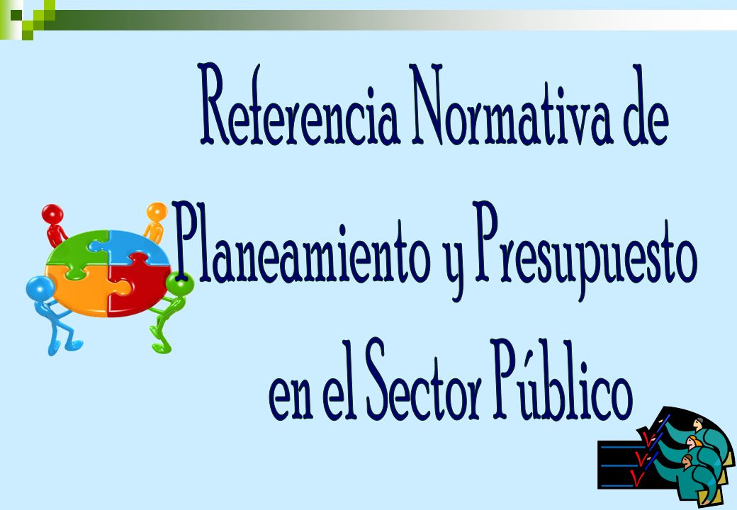 Referencia Normativa de Planeamiento y Presupuesto