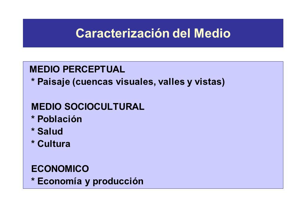 Caracterización del Medio