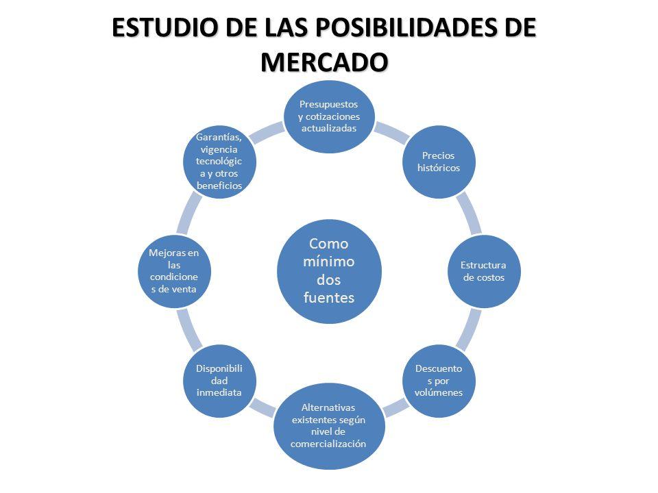 ESTUDIO DE LAS POSIBILIDADES DE MERCADO