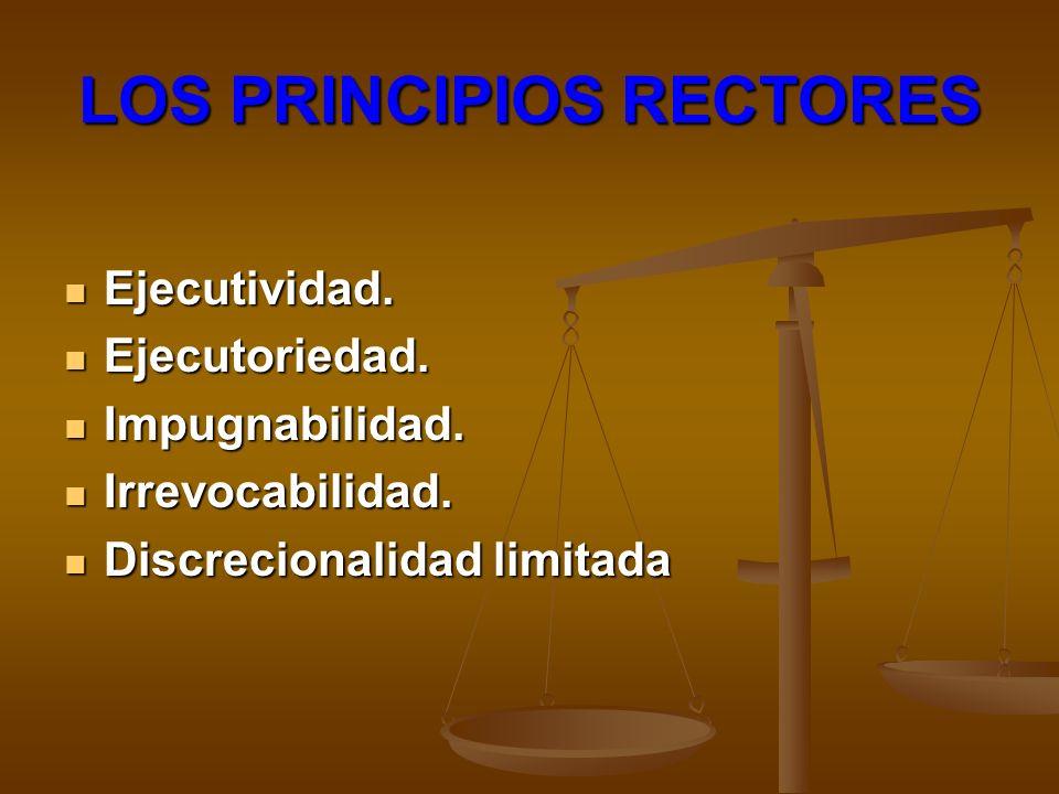 LOS PRINCIPIOS RECTORES