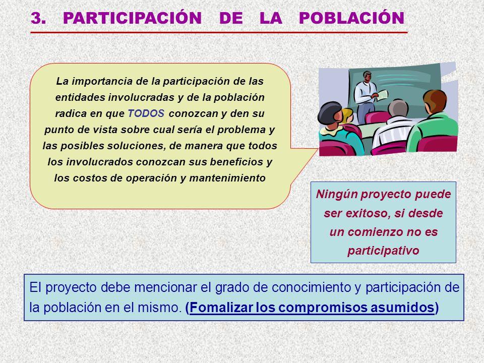 3. PARTICIPACIÓN DE LA POBLACIÓN