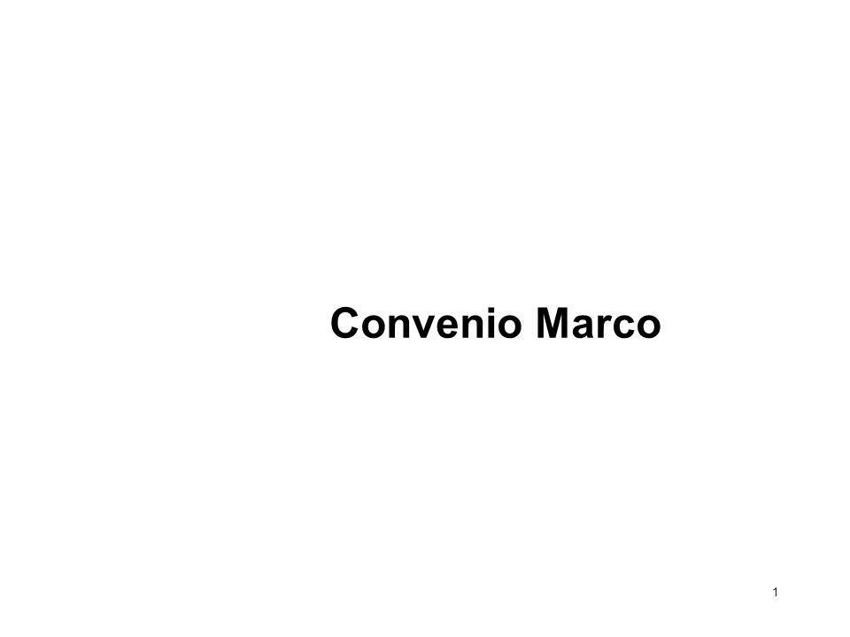 Convenio Marco 1