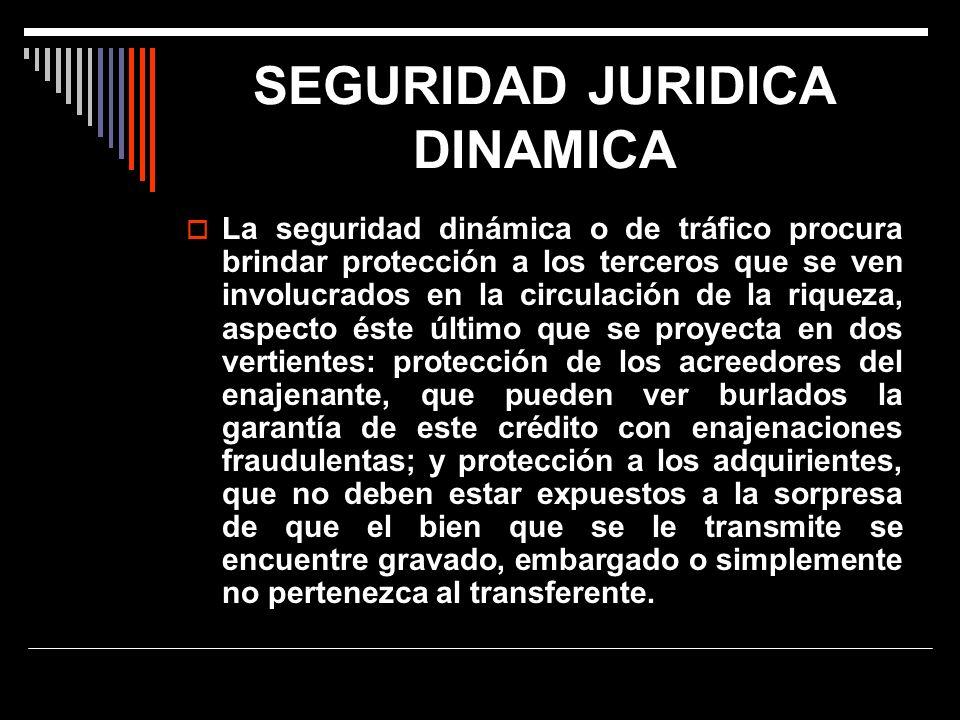 SEGURIDAD JURIDICA DINAMICA