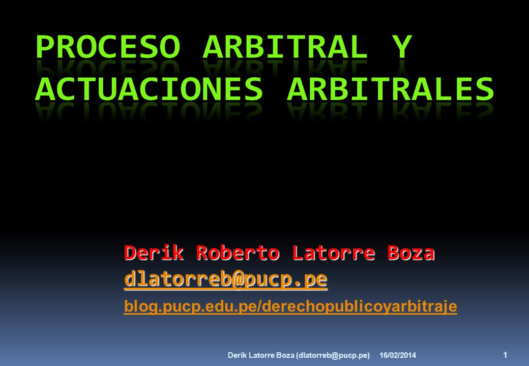 Derik Roberto Latorre Boza dlatorreb@pucp.pe