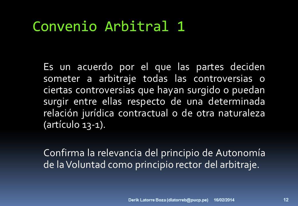 Convenio Arbitral 1