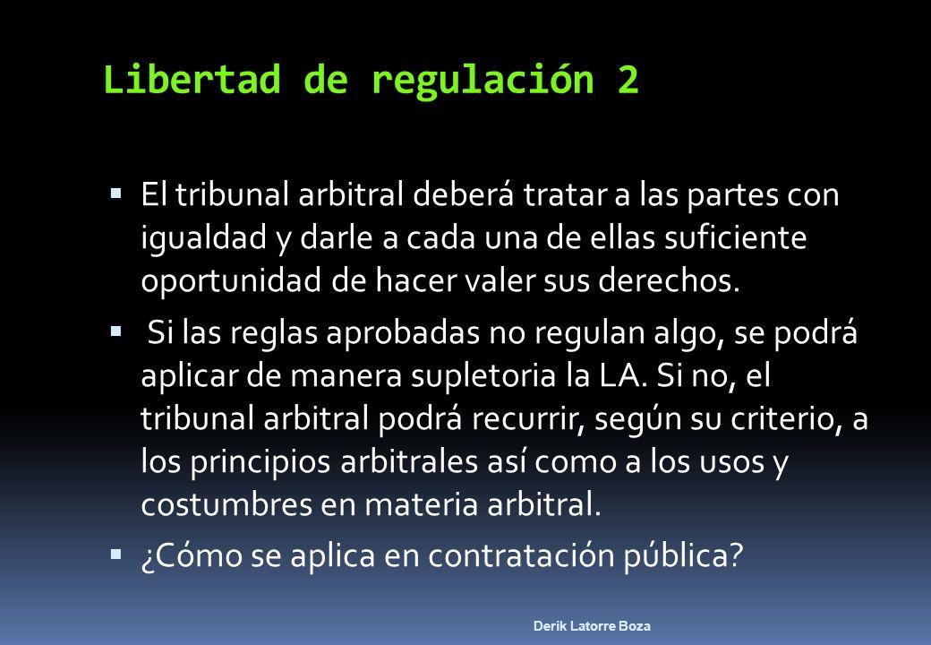 Libertad de regulación 2