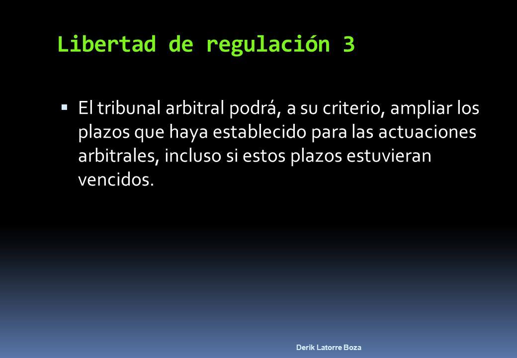 Libertad de regulación 3