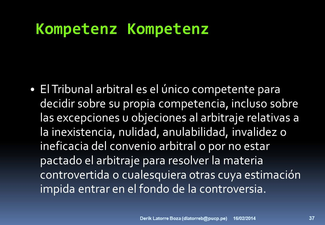 Kompetenz Kompetenz