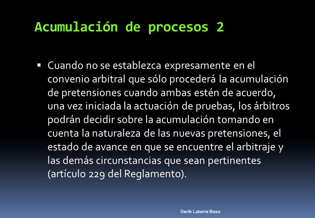 Acumulación de procesos 2