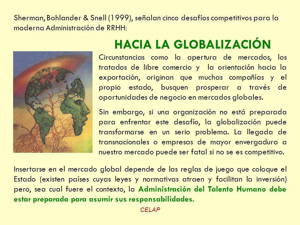 HACIA LA GLOBALIZACIÓN