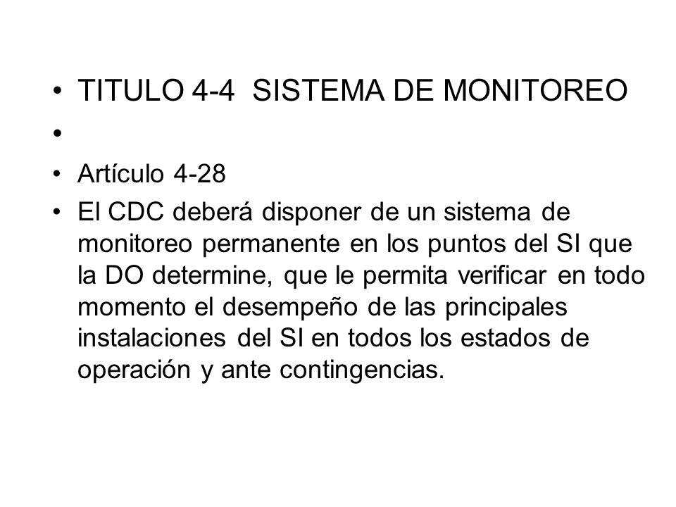 TITULO 4-4 SISTEMA DE MONITOREO