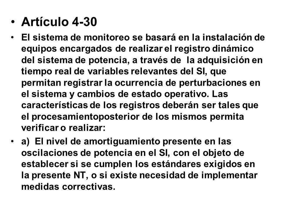 Artículo 4-30