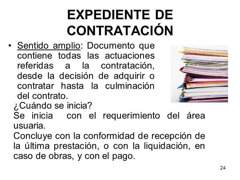 EXPEDIENTE DE CONTRATACIÓN