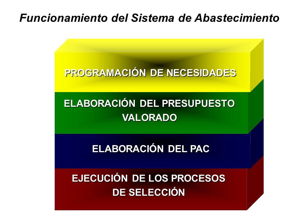 ELABORACIÓN DEL PRESUPUESTO EJECUCIÓN DE LOS PROCESOS