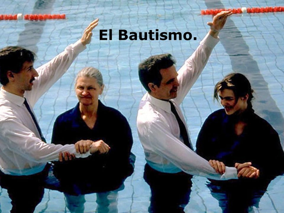 El Bautismo.