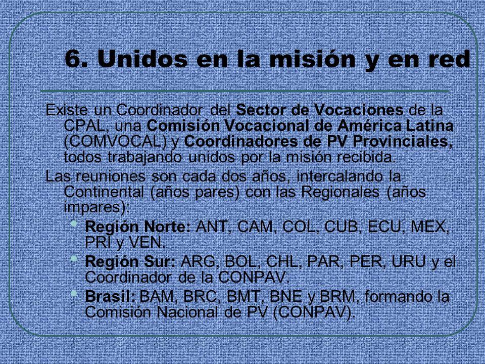 6. Unidos en la misión y en red