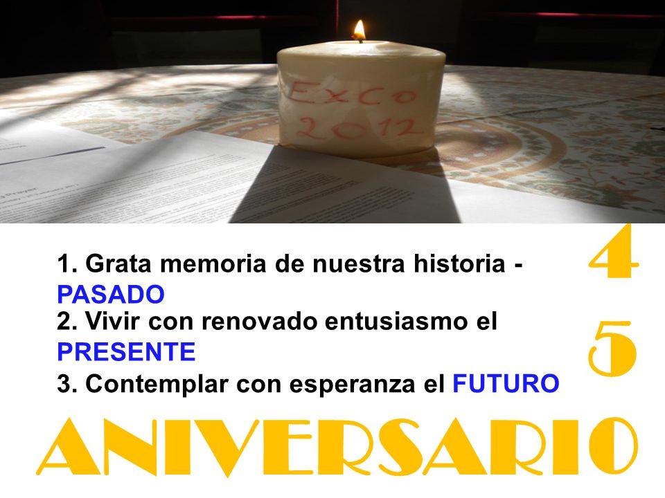 450 ANIVERSARI 1. Grata memoria de nuestra historia - PASADO