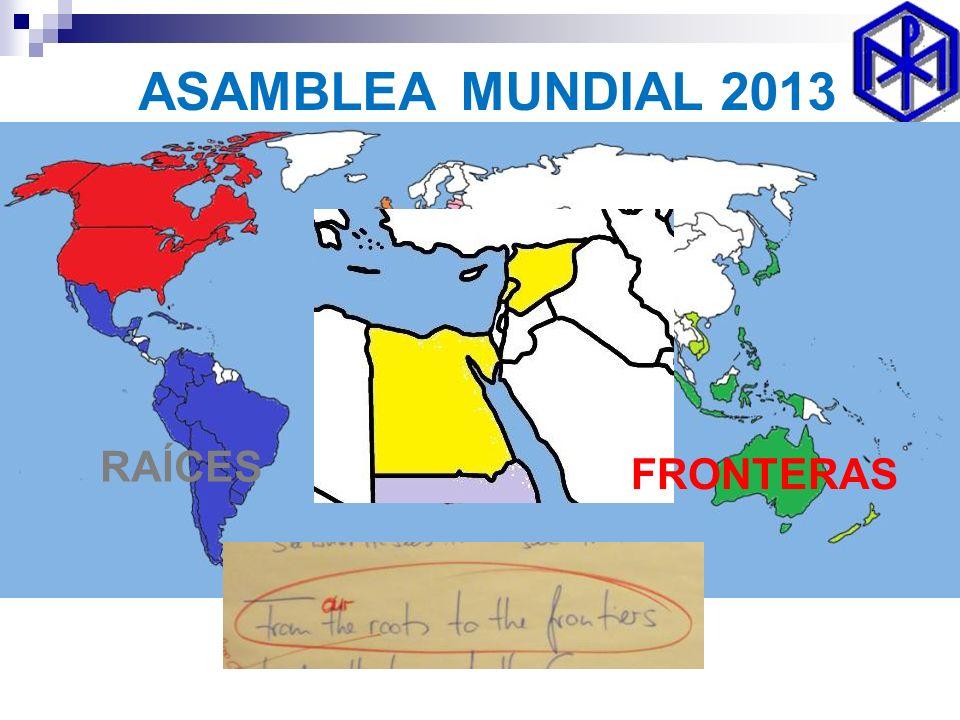 ASAMBLEA MUNDIAL 2013 RAÍCES FRONTERAS