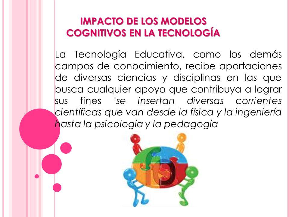 IMPACTO DE LOS MODELOS COGNITIVOS EN LA TECNOLOGÍA