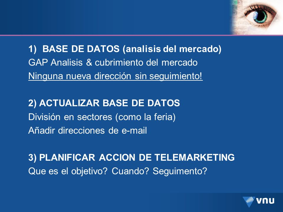 BASE DE DATOS (analisis del mercado)