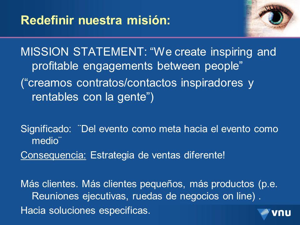 Redefinir nuestra misión: