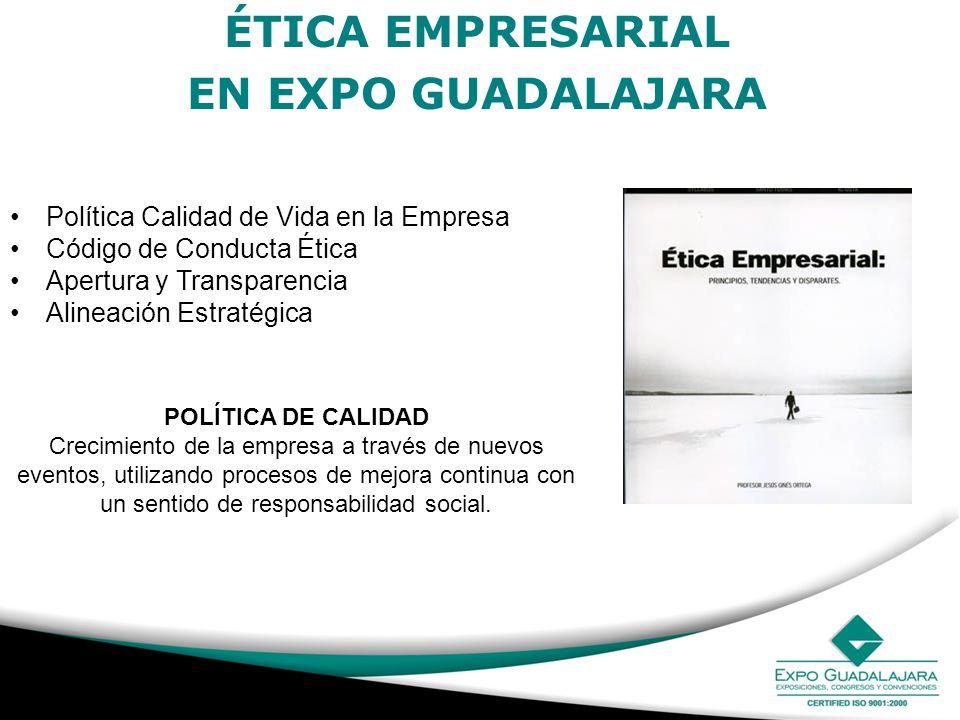 ÉTICA EMPRESARIAL EN EXPO GUADALAJARA