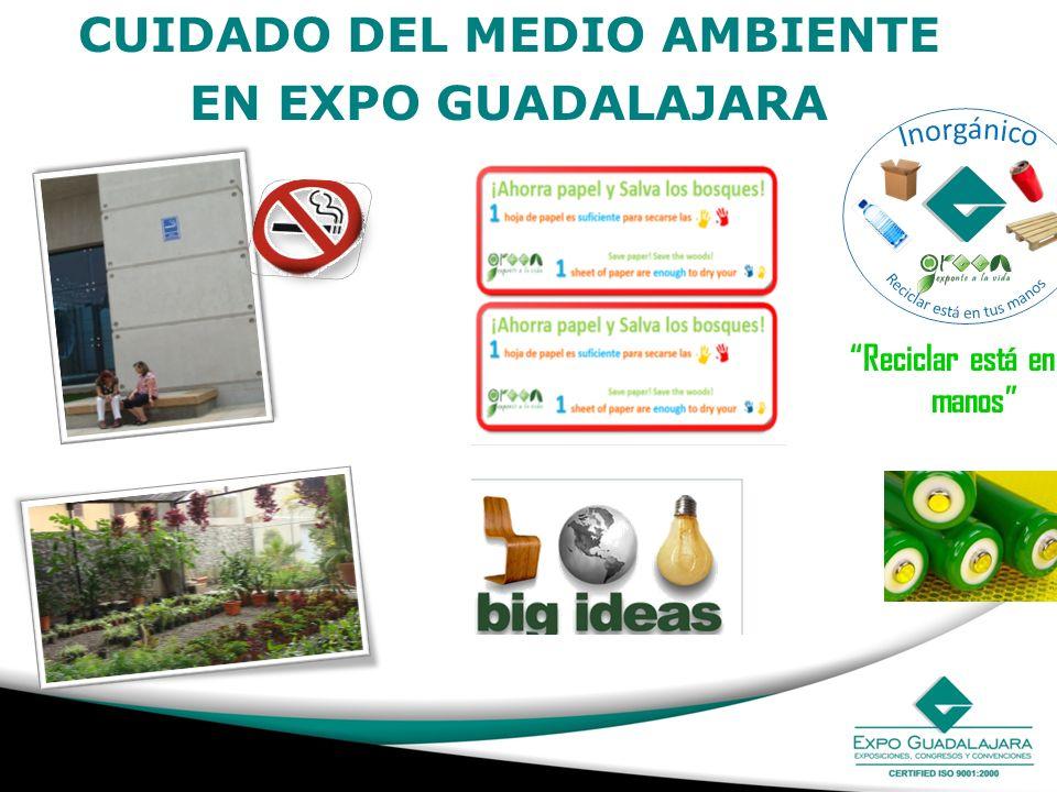 CUIDADO DEL MEDIO AMBIENTE EN EXPO GUADALAJARA