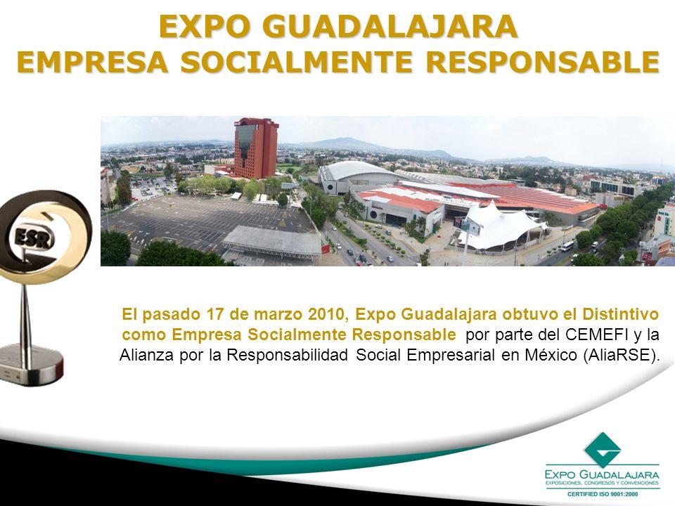 EXPO GUADALAJARA EMPRESA SOCIALMENTE RESPONSABLE