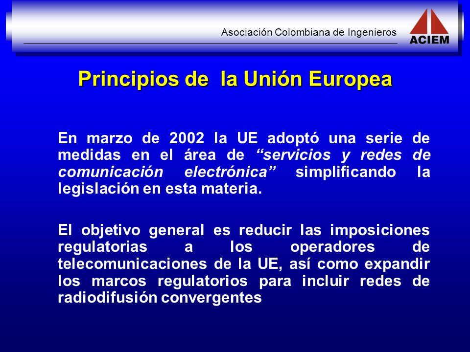 Principios de la Unión Europea