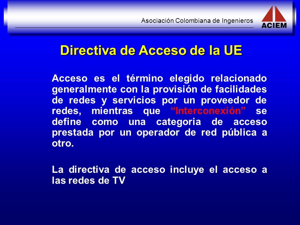 Directiva de Acceso de la UE