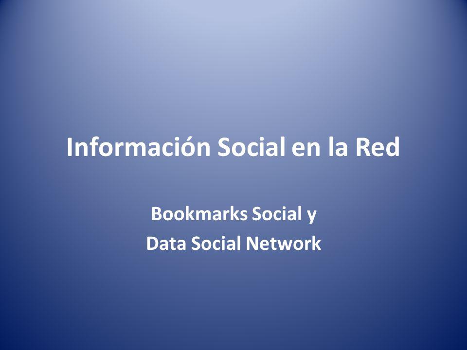 Información Social en la Red