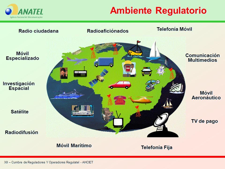 Ambiente Regulatorio Telefonía Móvil Radio ciudadana Radioaficiónados