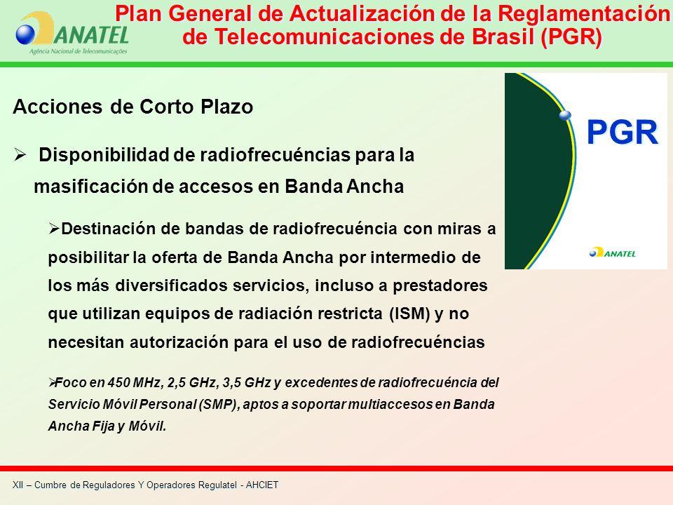Plan General de Actualización de la Reglamentación de Telecomunicaciones de Brasil (PGR)