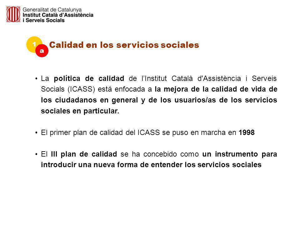 Calidad en los servicios sociales