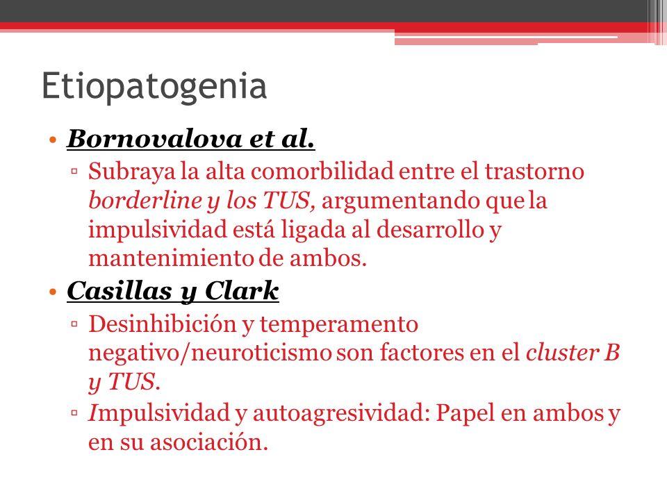 Etiopatogenia Bornovalova et al. Casillas y Clark