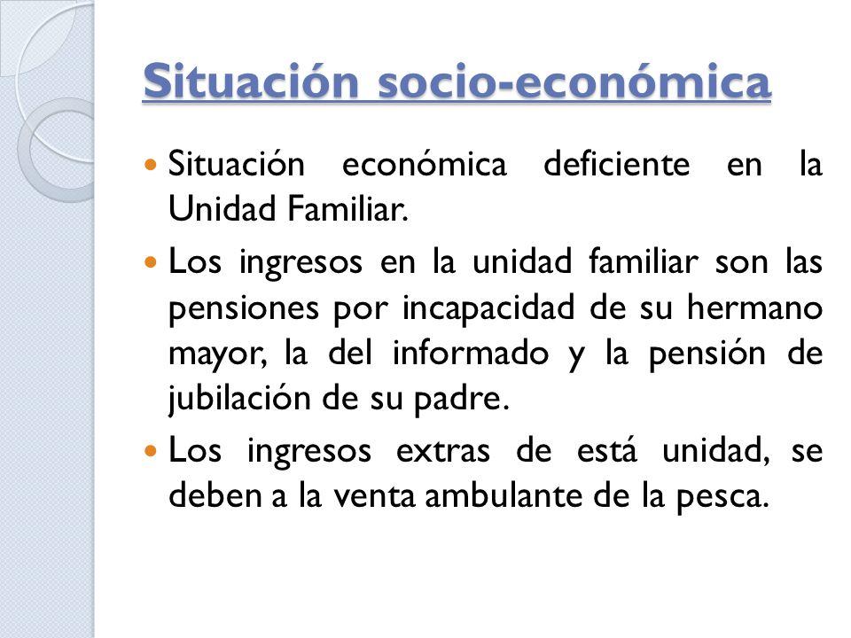Situación socio-económica