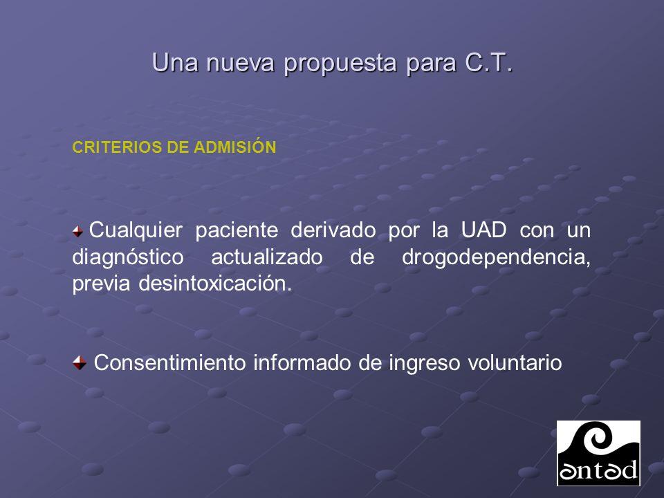 Una nueva propuesta para C.T.